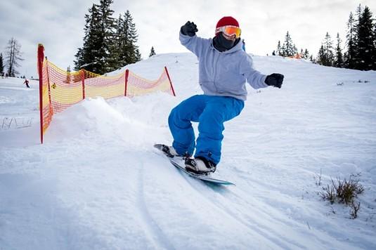 Vintage Snowboard Days Banked Slalom Hochkönig
