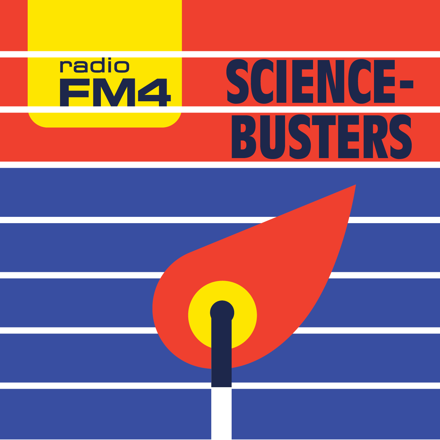 FM4 Science Busters logo