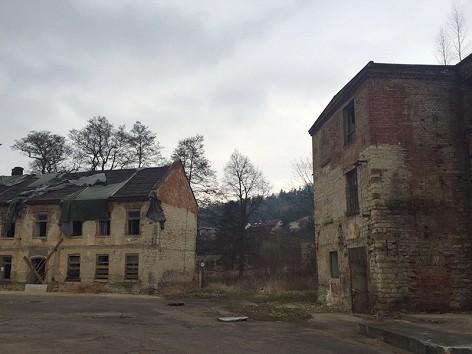 Die Fabrik Schindlers in Brünnlitz