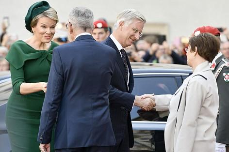 Belgisches Königspaar in Wien
